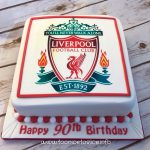 Liverpool football club birthday cake