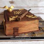 Harry Potter Book of Spells Cake