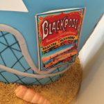 Blackpool, tower,roller coaster & beach cake