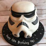Darth Vader Mask Cake
