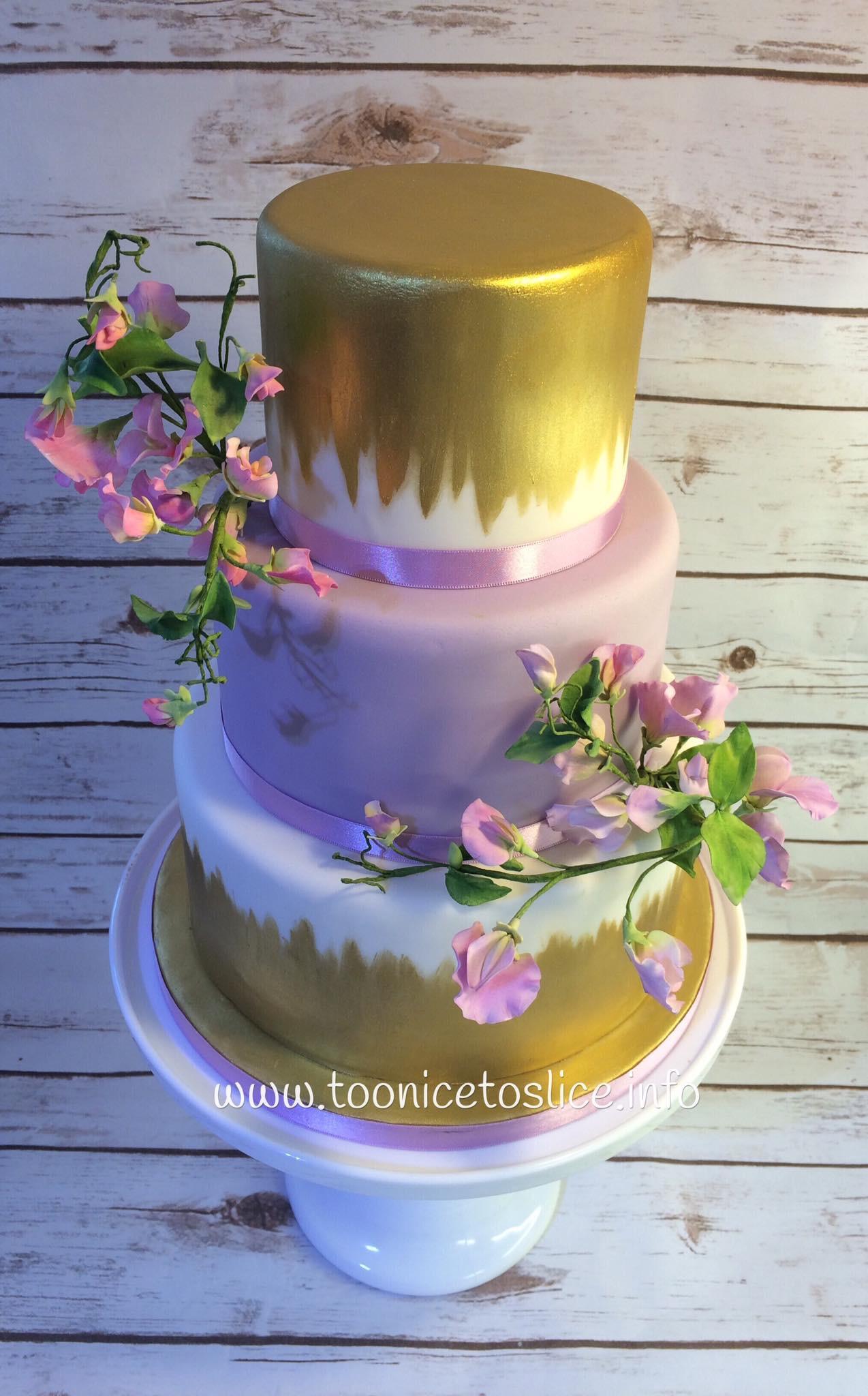 Three Tiered Wedding Cakes