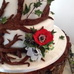 Ruth - Enchanted Forest Wedding Cake - Lytham St Annes