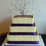 July purple & chocolate