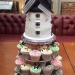 Lytham Windmill Wedding Cake, Lancashire