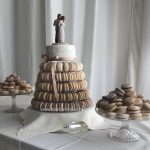 Muted Macaron Wedding Display