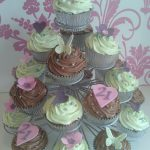 Cupcake stand holds 23 cakes hire £5 security £35