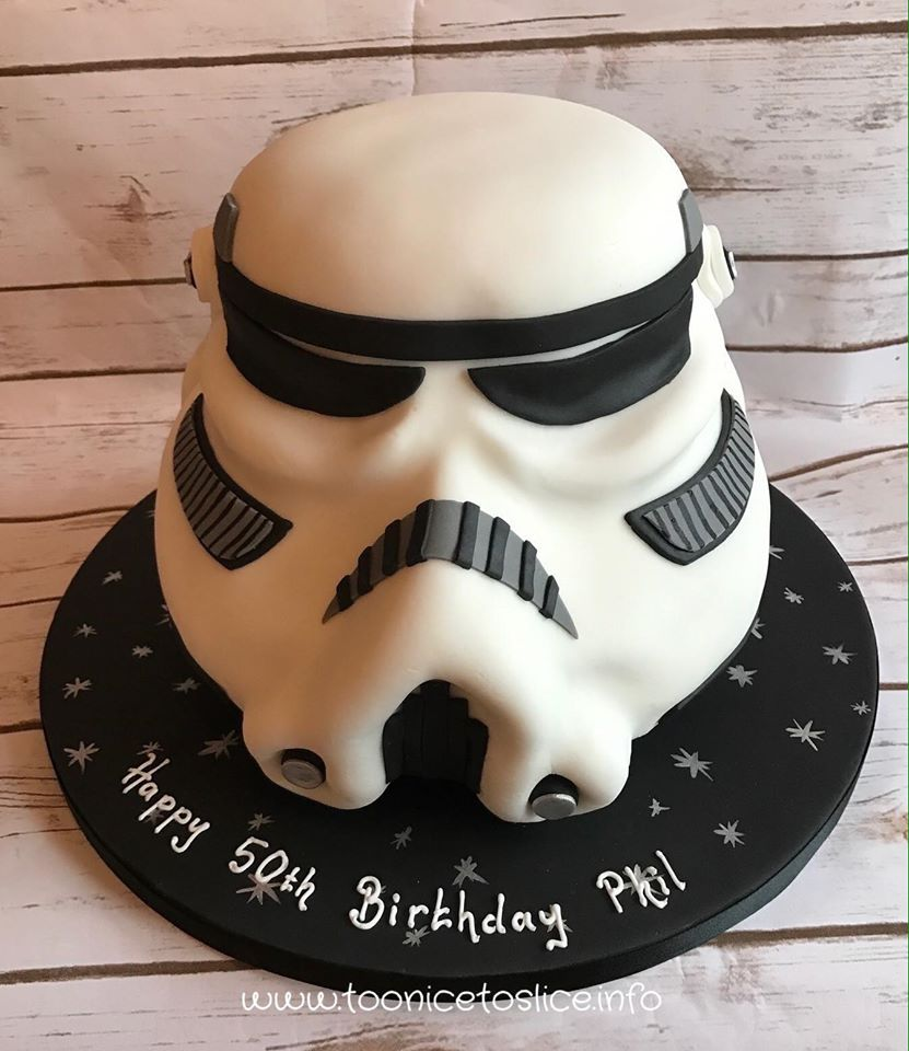 Marvelous Star Wars Birthday Cake Too Nice To Slice Funny Birthday Cards Online Fluifree Goldxyz