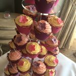 Pretty Wedding Cupcake Tower