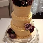 Buttercream wedding cake 2