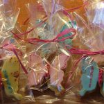 Butterfly cookie gift bags