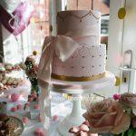 Pretty Girls Christening Cake