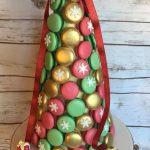 Macaron Christmas Centrepiece