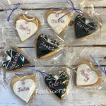 Bride & Groom Cookie Favours