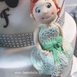 Family anniversary cake