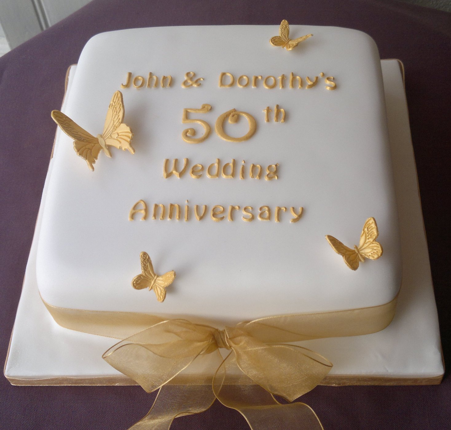 Anniversary Cakes Too Nice To Slice