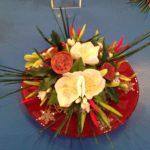 Sugar Flower Christmas Centrepiece