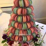 Stunning Macaron Wedding Tower