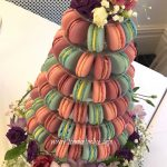 Beautiful macaron Wedding Tower