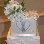 Juliet Wedding Cake Hydrangeas