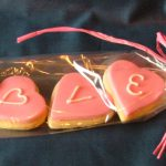 Iced Cookie Favour LOVE