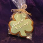 Iced Good Luck Cookie Favour