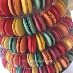 Colourful Wedding Macaron Tower