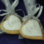 Wedding Bride & Groom Iced Cookie Favour