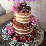 Naked Centrepiece Cake