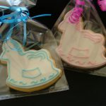 Baby Shower Rocking Horse Cookie