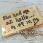 Chocolate Bar Wedding Favours