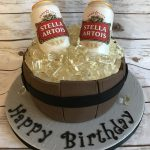 Stella Artois Cake
